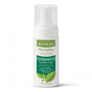 MEDLINE Remedy Phytoplex Hydrating Cleansing Foam,4.000 OZ 1 EA / EA