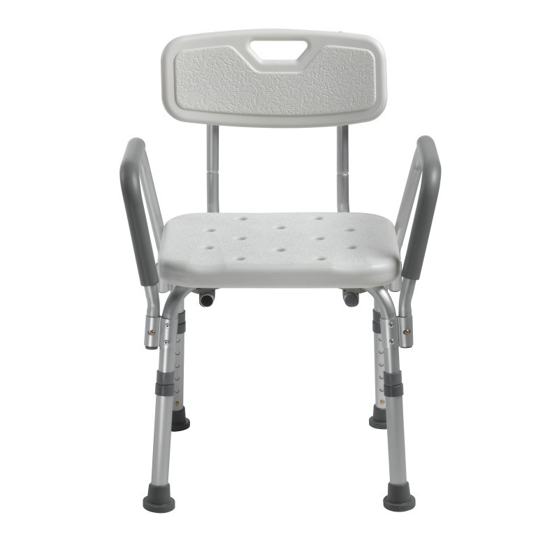 Drive Medical Knock Down Bath Bench with Back and Padded Arms