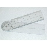 Fabrication Ent, Inc. Plastic Angle Rule Goniometer 7   360 Degrees