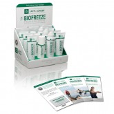 Hygenic Corporation BioFreeze Countertop Display 12 piece