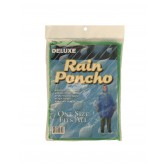 KI INC Hooded Rain Poncho