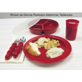 Maddak Inc. Redware Tablewear Set Basic