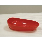 Maddak Inc. Scooper Dish Redware w/Non-Skid Base