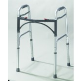 Drive Medical Easy-Release 2 Button Folding Walker Adult