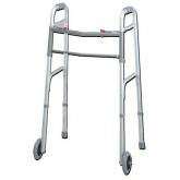 Complete Medical Easy-Release 2 Button Walker Youth W/3  Wheels