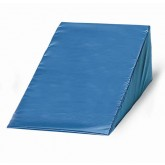 Crown Medical Vinyl Covered Foam Wedge 6 h x 20 w x 22 l  Navy