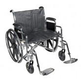 Drive Medical Wheelchair Std Rem Full Arms & S/A Footrests  20