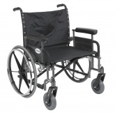 Drive Medical Bariatric Wheelchair Rem Full Arms  26  Wide