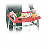 North American Walker Tray w/o Grip Mat Red