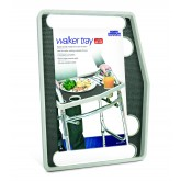 North American Walker Tray w/ Grip Mat  Gray