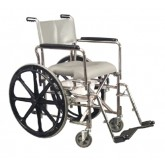 Graham-Field Health Shower Commode Rehab WC Lo-Back w/24  Rear Wheels