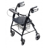 Graham-Field Health Rollator  Hemi  Aluminum Black