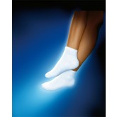 BSN Med/-Beiersdorf /Jobst Sensifoot Mini Crew Socks White Medium