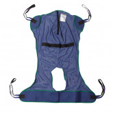 Drive Medical Full Body Patient Lift Sling, Mesh with Commode Cutout, Extra Large