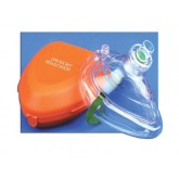 ADC Corporation CPR Pocket Mask W/Hard Case & One-Way Valve & O2 Inlet