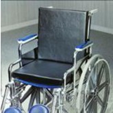 Crown Medical Solid Back Insert Wheelchair Cushion  18 x16 x1.25  w/Strap