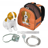 Drive Medical Pediatric Beagle Compressor Nebulizer with Carry Bag, and Disposable and Reusable Neb Kits