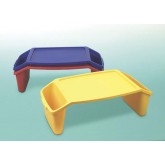 Romanoff Products Bed Tray w/Side Pockets  Blue