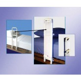 Mobility Transfer System SafetySure Safeguard Cover for MTS Hosp. Style Bed Rails+