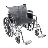 Drive Medical Wheelchair Std Dual-Axle 24  w/Removeble Desk Arms & ELR