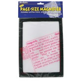 North American Magnifier Full Page Reading Fresnel 7 x10  w/Border