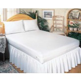Complete Medical Mattress Cover Allergy Relief Calif King-size 72 x84 x9  Zip