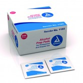 Dynarex Corporation Alcohol Prep Pads- Bx/100 Medium Sterile
