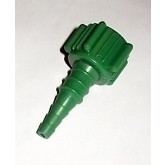 Mada Medical Oxygen Fitting For Hose Connector 50/Box Green Plastic