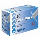 Dynarex Corporation Surgical Tie-On Face Mask Bx/50