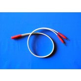 Bloomex International Inc. Bifurcated Lead Wire 18  Pin / Pin Red
