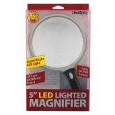 Ultraoptix Inc. Magnifier Lighted LED 5  Round