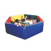 Fabrication Ent, Inc. Panel Sided Ball Pit  5' x 7' w/5500 Large Balls