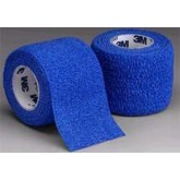 3M Coban Self-Adherent Wrap 2 x5 Yd Blue Bx/36