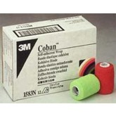 3M Coban Self-Adherent Wrap 3 x5 Yd Neon Colors  Bx/12