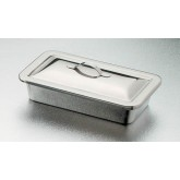 Complete Medical Instrument Tray W/ Lid 8-1/2 X 4-1/2  X 1 1/2