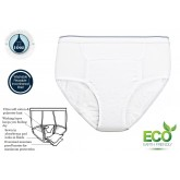 CareActive Men's Reusable Incontinence Brief 10oz 3-Pack Small