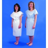 TIDI Products, LLC Paper Patient Exam Gowns- Blue Bx/50