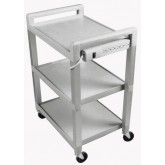 Ideal Medical Products Inc Utility Cart With Power Strip W/ Drawer