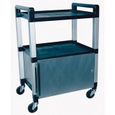 Ideal Medical Products Inc Utility Poly Cart w/Cabinet