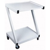 Ideal Medical Products Inc Z-Cart Steel  2-Shelf White