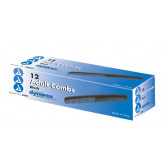 Dynarex Corporation Combs-7   Bx/12  Black Plastic