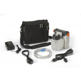 DeVilbiss Healthcare Vacu-Aide Compact Suction Unit with 725cc Reusable Bottle and Carrying Case
