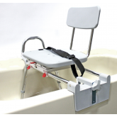 Eagle Health Supplies Inc Snap-N-Save Sliding Tub-Mount Transfer Bench with Swivel Seat and Back