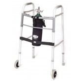 Comfort Solutions, LLC TOTE Oxygen Tank Carrier fits D-Cylinder for Wheeled Walker