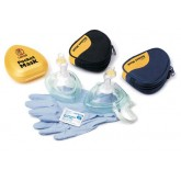 Ever Ready First Aid & Med Laerdal Pocket Mask W/ One Way Valve & Filter (w/o O2 Inlet)