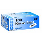 Dynarex Corporation Surgical Caps Blue 21  Bx/100