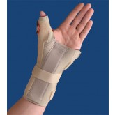 Orthozone Carpal Tunnel Brace w/Thumb Spica  Left  Beige  XS/S
