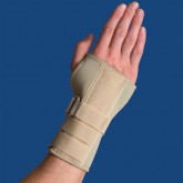 Orthozone Thermoskin Carpal Tunnel Brace W/Dorsal Stay XL Right Beige