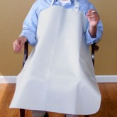 New York Orthopedic USA Smokers Apron  34  x 30  White