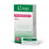MEDLINE CURAD Hydrocortisone Cream,0.050 OZ 48 EA / BX